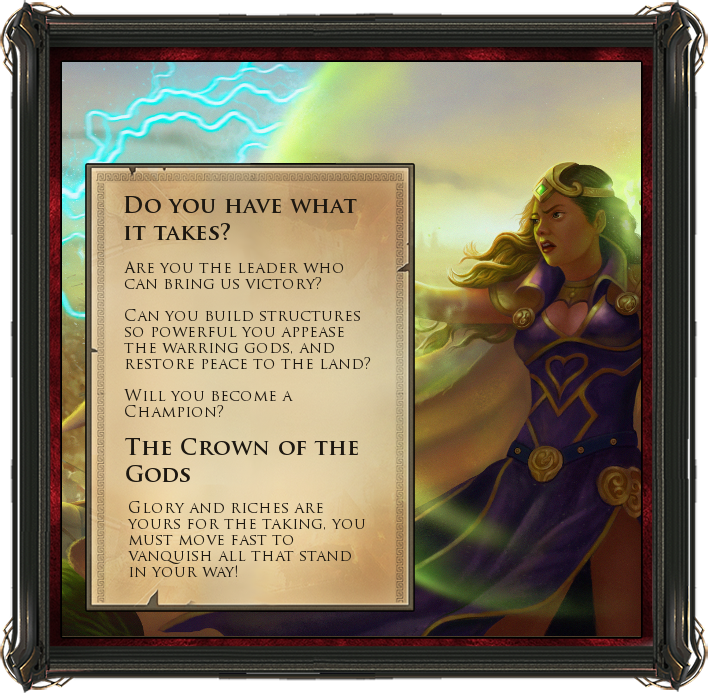 Crown of the Gods - Do you have what it takes?